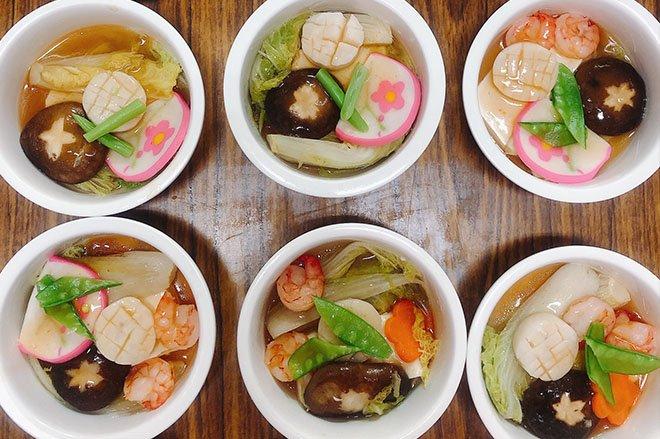干貝豆腐百花蒸